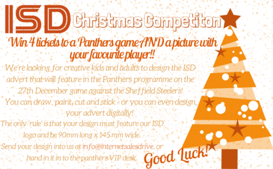 ISD Christmas Competition with Nottingham Panthers
