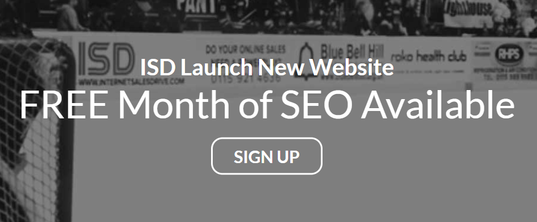 ISD Launch New Website - FREE Month of SEO Available