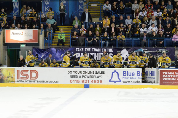 ISD and Nottingham Panthers Caption Competition